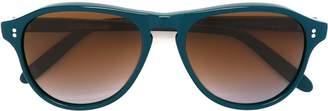 Cutler & Gross round shaped sunglasses