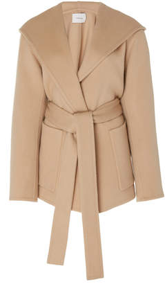 Vince Hooded Wool-Cashmere Coat