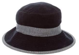 Hermes Chapeaux Motsch x Terry Bucket Hat