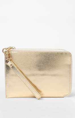 Ban.do Gold Travel Clutch
