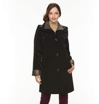 Gallery Women's Hooded Lined Rain Jacket