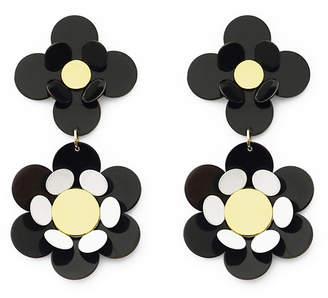 Isuwa Oya Black Flower Earrings