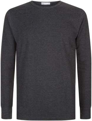 Sunspel Thermal Long Sleeve T-Shirt