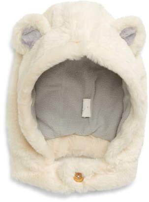 Boden Mini Bear Faux Fur Hat