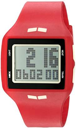 Vestal Unisex HLMDP25 Helm Digital Display Quartz Red Watch