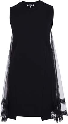 McQ Black Layered Dress