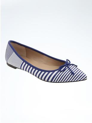 Pointed-Toe Robin Ballet Flat $88 thestylecure.com