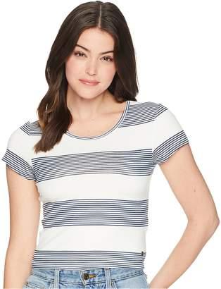 Roxy Parker Stripy Top Women's Clothing