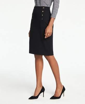 Ann Taylor Sailor Pencil Skirt