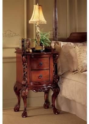 Toscano Design Chteau Lorraine Bedside Table