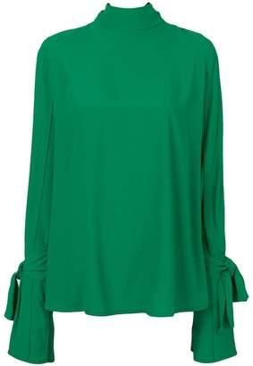 Marni knotted cuff blouse