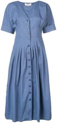 Sea front button dress