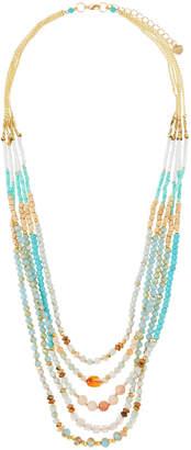 Nakamol Beaded Multi-Strand Necklace, Blue/Green