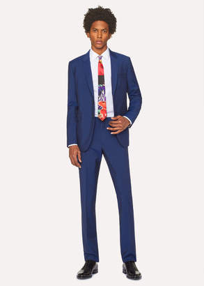 Paul Smith The Kensington - Men's Slim-Fit Royal Blue Wool-Mohair Suit