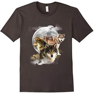 Three Legendary Guardians Wolf T-Shirt -Courage & Loyalty