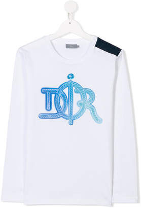 Christian Dior TEEN logo print T-shirt