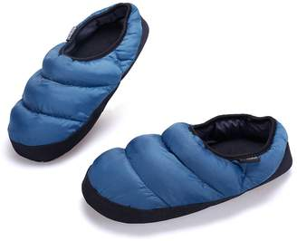 ARKE Men and Women's Warm Wool Soft Slippers with Slip Resistant Sole with Memory Foam Ankle Boots and Mens House Slippers