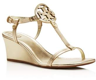 2be7b64ce4 Tory Burch Gold Ankle Strap Women's Sandals - ShopStyle