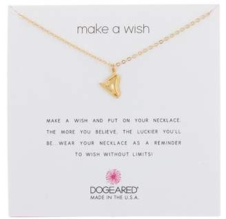 Dogeared 14K Gold Vermeil Make a Wish Ice Skate Charm Necklace