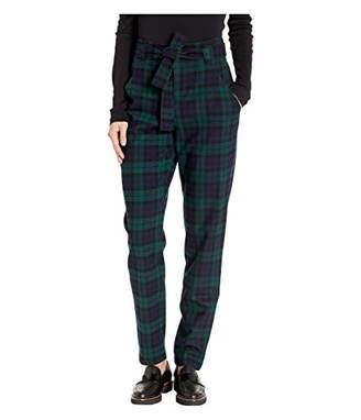 Pendleton Women's Tartan Belted Trousers