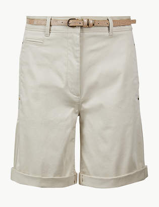 Marks and Spencer Cotton Rich Chino Shorts