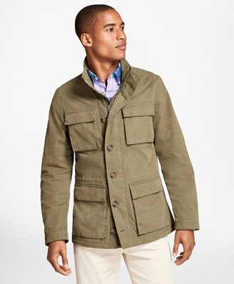 Brooks Brothers Washed Canvas Field Jacket