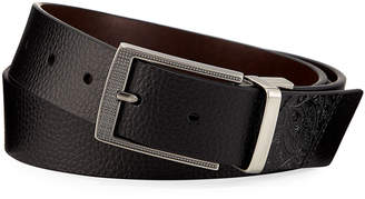 Robert Graham Leather Reversible Belt