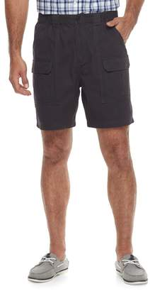 Croft & Barrow Men's Classic-Fit Side Elastic Cargo Shorts
