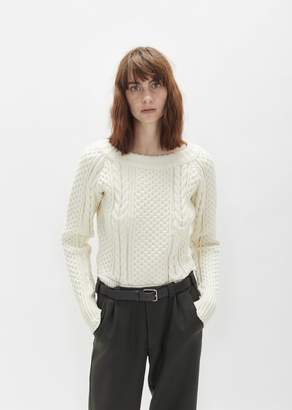 Martine Rose Aran Knit Bodysuit