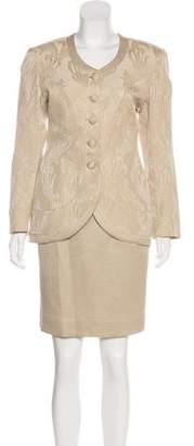 Christian Dior Silk & Wool Skirt Suit