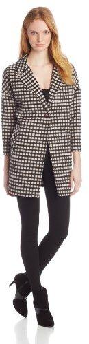 Helene Berman Women's Single-Button Collar and Revere Coat