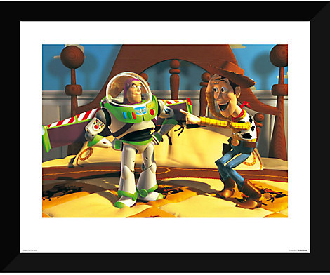 Disney Toy Story ''You're Not a Space Hero'' Giclé