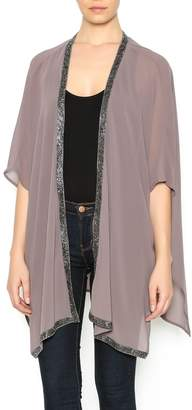 Bishop + Young Beaded Trim Kimono