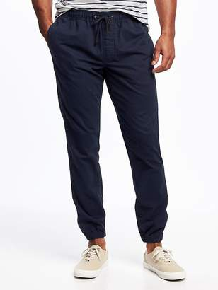 Old Navy Twill Joggers for Men
