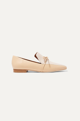 Malone Souliers Roksanda Marlene Celia Two-tone Leather Loafers