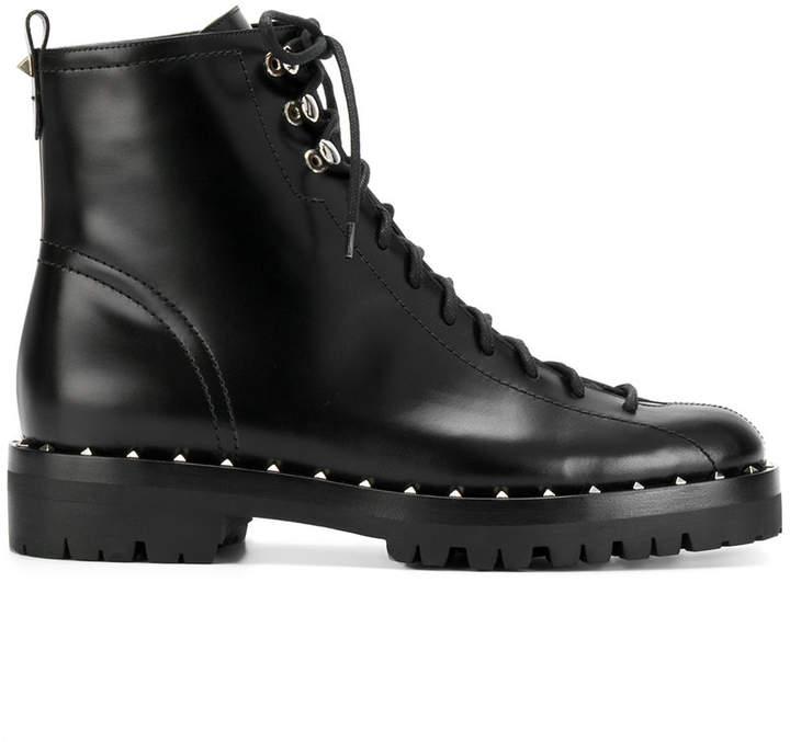 Valentino Garavani Soul Rockstud combat boots