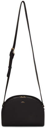 A.P.C. Black Half-Moon Bag