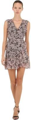 AllSaints Priya Petal Sleeveless Wrap Dress