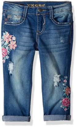 Vigoss Big Girls' Fashion Crop Skinny Jean