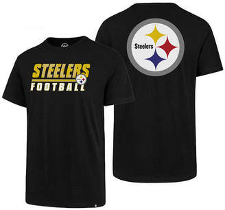 '47 Men's Pittsburgh Steelers Fade Back Super Rival T-Shirt