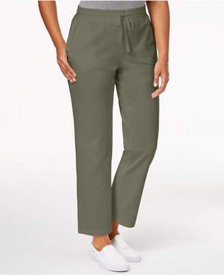 Karen Scott Petite Drawstring Active Pants