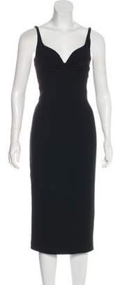 L'Wren Scott Crepe Midi Dress