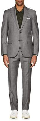 Barneys New York Men's Lotus Worsted Wool Two-Button Suit