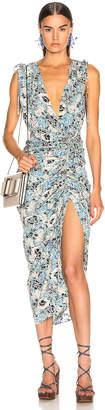Veronica Beard Teagan Dress in Blue Multi | FWRD