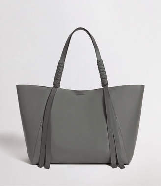 AllSaints Voltaire Leather East West Tote Bag