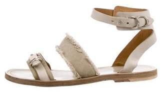 Rag & Bone Canvas Thong Sandals