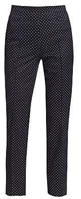 Akris Punto Women's Franca Micro Polka Dot Pants