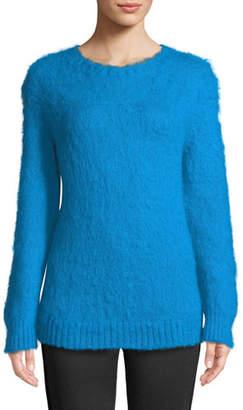 Moncler Mohair-Blend Pullover Sweater