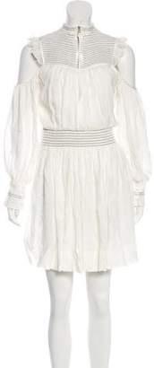 Cinq à Sept Cold-Shoulder Mini Dress w/ Tags