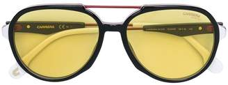 Carrera aviator shaped sunglasses